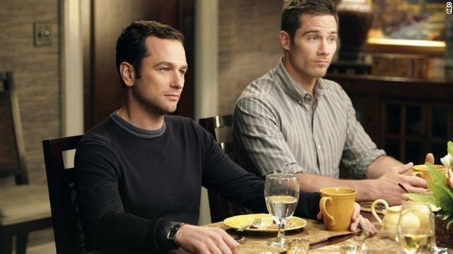 On Brothers and Sisters, which aired on ABC from 2006 to 2011, Kevin Walker (Matthew Rhys) proposed to Scotty Wandell (Luke Macfarlane). The pair had two children, Olivia and Daniel.