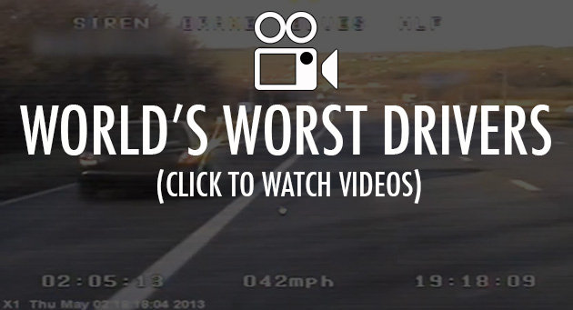 Click above for more videos of bad drivers