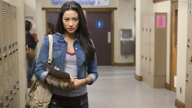 A major storyline in Pretty Little Liars has been the discovery by Emily (Shay Mitchell) of her sexuality and her a href='http://marquee.blogs.cnn.com/2011/01/04/moments-later-on-pretty-little-liars/'coming out to her family/a.