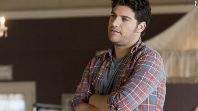 Happy Endings' Max Blum, played by Adam Pally, is openly gay. His friends persuade him to come out to his parents during the show's first season.