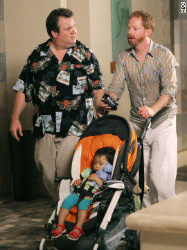 Modern Family's Mitchell Pritchett (Jesse Tyler Ferguson) and Cameron Tucker (Eric Stonestreet) adopted a baby girl named Lily on the sitcom's pilot episode in 2009. The pair made plans to adopt another child during the third season of the show, which currently airs on ABC.