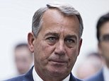 UNITED STATES - JANUARY 13: Speaker of the House John Boehner, R-Ohio, leaves the House Republican Conference meeting in the Capitol on Tuesday, Jan. 13, 2015. (Photo By Bill Clark/CQ Roll Call)
