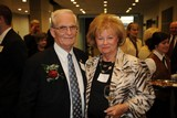 Bill Pugh and Faye Bailey at the Helen Ross McNabb event at which Pugh was honored with the 2012 Spirit Award.