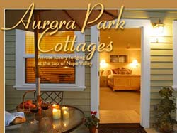 Aurora Park Cottages - Gay Friendly Bed and Breakfast in Calistoga, CA